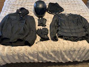 Motorcycle Riding Gear - Jacket/Vest/Helmet/Gloves for Sale in Gilbert, AZ