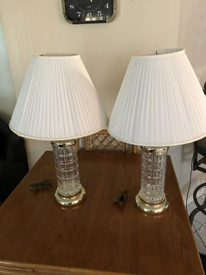 2 lamps for Sale in Lake Worth, FL