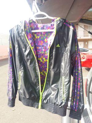 Adidas reversible climaproof windbreaker Runner jacket for Sale in Tempe, AZ