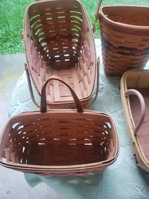 Longaberger baskets for Sale in Silver Spring, MD