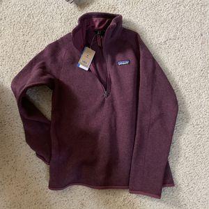 Patagonia Better Sweater 1/4 zip small for Sale in El Dorado Hills, CA
