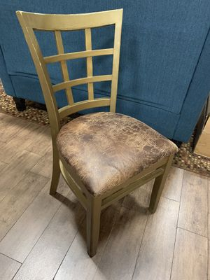 Wooden Style Chair with Cushioned Seat for Sale in Delray Beach, FL