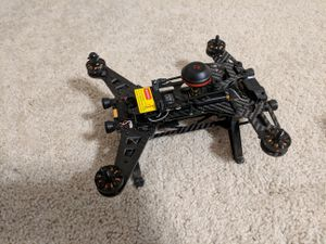 Racing Drone and VR Goggles for First Person Flying for Sale in Clayton, NC