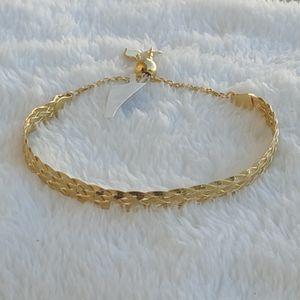 Sale! NEW 14k gold over 925 Sterling silver bracelet for Sale in Pompano Beach, FL