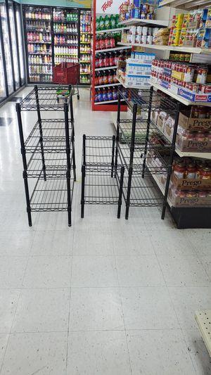 black metal shelves for Sale in Farmington, MI