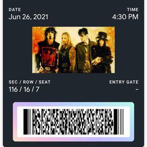 2 Motley Crue, Def Leppard, Poison & Joan Jett Concert Tickets In Miami for Sale in Vero Beach, FL