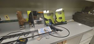 Chrome Herb Letters for Sale in Fountain Valley, CA