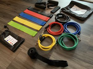Home Gym Starter Resistance Bands Kit for Sale in League City, TX