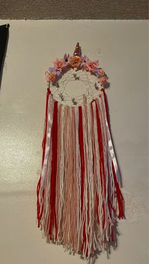 Unicorn dream catcher wall hanging decoration for Sale in Norwalk, CA