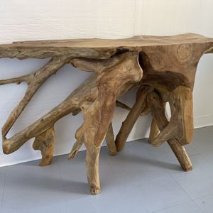 Teak Root Console Table Stand Seattle for Sale in Seattle, WA