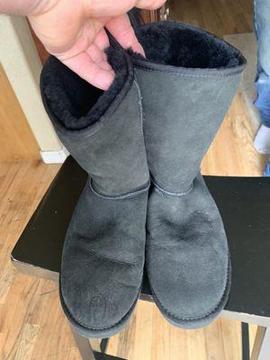 Ugg Black boots nice size 10 Nice for Sale in Denver, CO