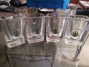Let it weed shot glasses for Sale in Lehigh Acres, FL