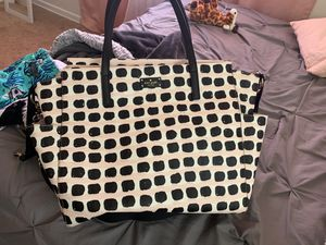 Kate spade diaper bag , used once . for Sale in Lanham, MD