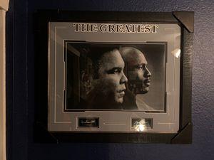 Mahammad Ali, Michael Jordan framed picture for Sale in Apache Junction, AZ
