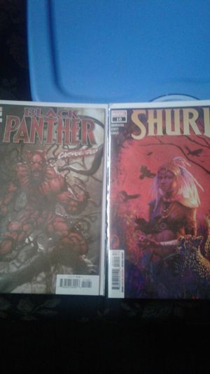 Black Panther # 14 Var cover Carnge-ized Cover & Shuri #10 for Sale in Amory, MS