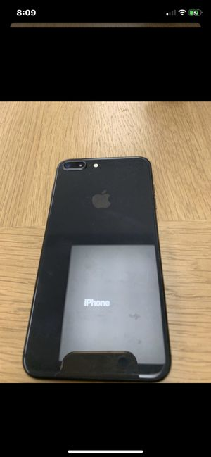 I phone 8 plus unlocked with 256 GB and free screensaver and case for Sale in Fresno, CA