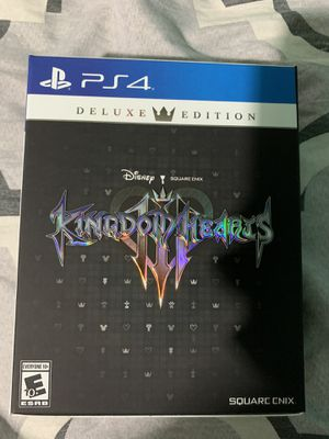 Kingdom hearts deluxe edition for Sale in Houston, TX