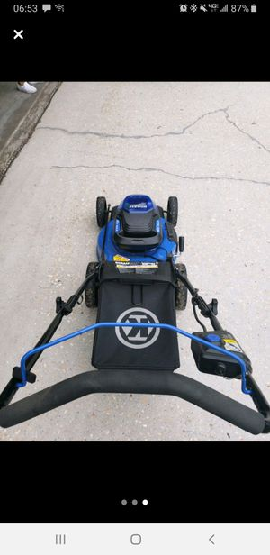 Kobalt electric lawn mower for Sale in Crestview, FL