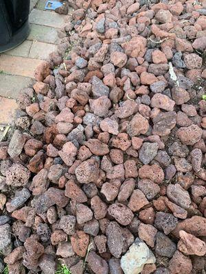 Red Lava Rocks for Sale in Alexandria, VA