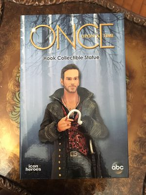 Once Upon a Time Hook Collectible Statue for Sale in New Britain, CT