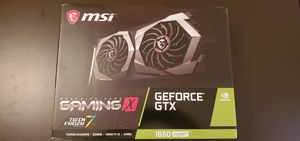 GeForce gtx 1650 super for Sale in Fresno, CA