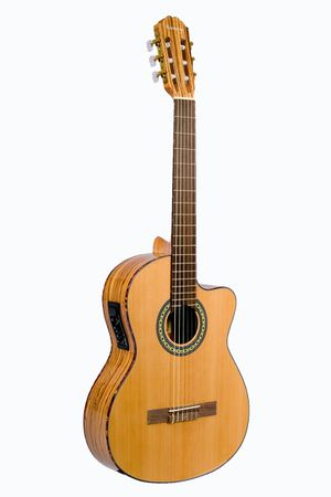 New Beautiful Classical Guitar Acoustic Electric Finely Crafted Guitarra Clásica Acústica Electrica for Sale in Mesa, AZ