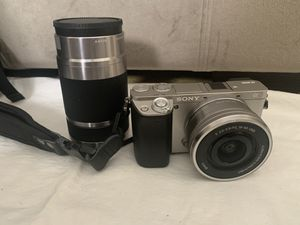 Sony A6000 Mirrorless Camera Body, three lenses, much much more!! for Sale in Los Angeles, CA