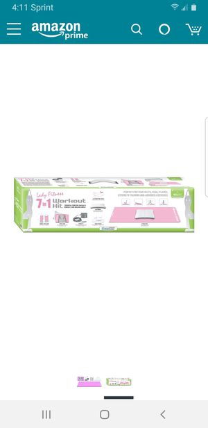 Wii Fit 7-In-1 Lady Fitness Workout Ki for Sale in Tampa, FL