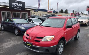 2006 Mitsubishi Outlander 5-speed financing available for Sale in Tacoma, WA