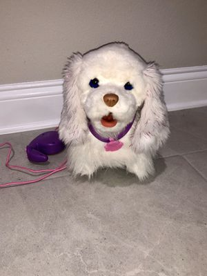 FurReal Friends Get Up and GoGo My Walkin Plush Pup Pet with attached remote control leash for Sale in Winter Garden, FL