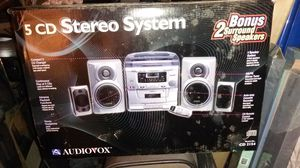 Audiovox 5 CD stereo system for Sale in Redwood City, CA
