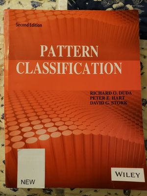 Pattern Classification 2nd edition for Sale in Seattle, WA