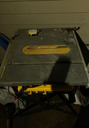 Dewalt table saw for Sale in Philadelphia, PA