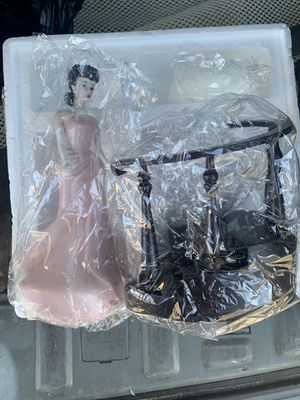 Barbie nostalgic enchanted evening porcelain doll for Sale in Anaheim, CA