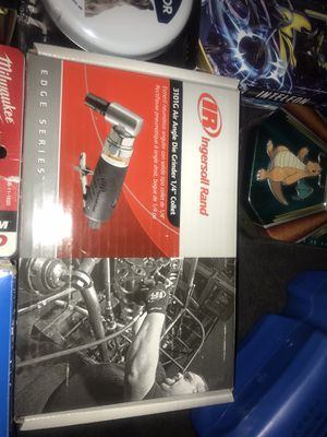 """Ingirsoll rand 3101g air angle die grinder 14"""" collet for Sale in Richmond, CA"""