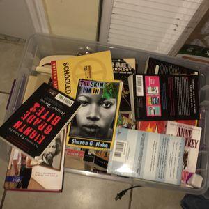 Bin full of good books for Sale in Miami Lakes, FL