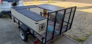 Tail gating trailer set up for Sale in Modesto, CA