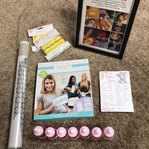 Girl Baby Shower Decoration Gift Basket Games for Sale in Fort Lauderdale, FL