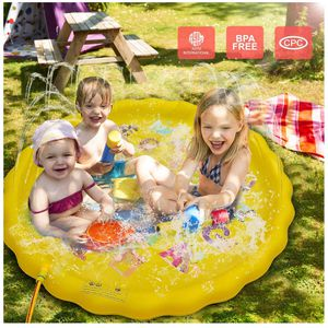 """Sprinkler for Kids, Splash Pad, and Swimming Pool for Kids – Children's Sprinkler Pool, 68'' Inflatable Water Toys """"from A to Z"""" Outdoor Swimming Poo for Sale in South El Monte, CA"""