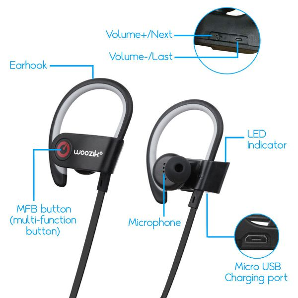Wireless Earbuds Bluetooth Headphones Sport Headset for iPhone Samsung LG  Mic for Sale in Garnet Valley, PA - OfferUp
