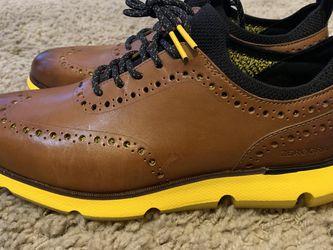 Cole Haan Zerogrande Mens Sz 8 Brown/Yellow Brand New! No Box for Sale in Farmington,  UT