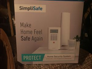 Simplisafe Home Security System with Camera for Sale in Apex, NC