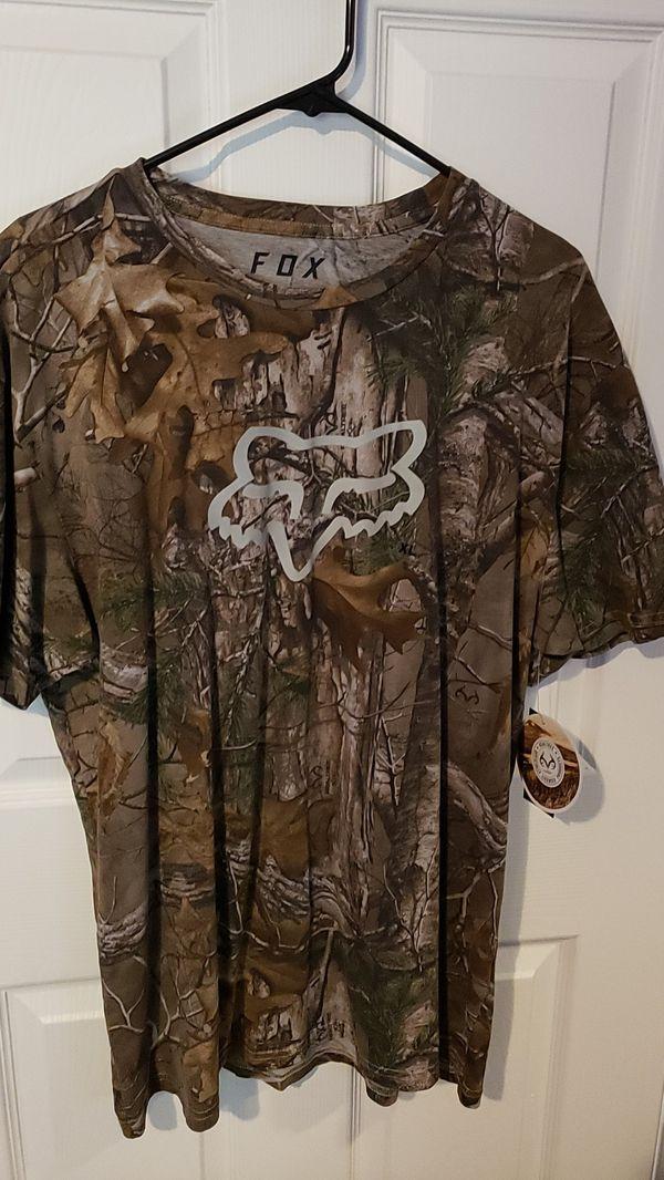 Fox Racing Realtree Camo shirt XL