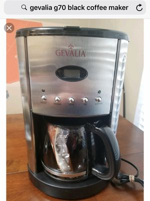 Gevalia 12 cup coffee maker New in the box for Sale in Oakland Park, FL