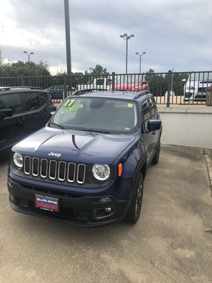 Awesome Jeep renegade for sale, trade-ins and financing available, come visit me at sellers sexton pre-owned trucks and imports in St.Robert, ask for for Sale in Saint Robert, MO