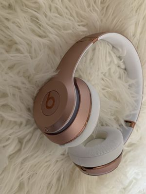 Dr. Dre Solo 3 Beats Headphones - Rose Gold for Sale in Richmond, VA