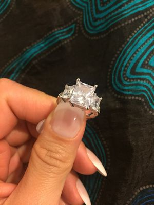 Stamped 925 Sterling Silver Ring- Code 3D100 for Sale in Seattle, WA