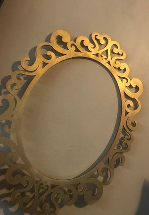 Gold spray painted frame for Sale in Los Angeles, CA