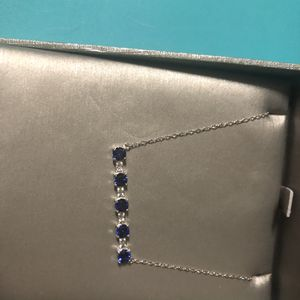 Kay Jewelers Diamond and Sapphire Necklace for Sale in Las Vegas, NV