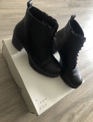 Black heeled boots / booties for Sale in San Diego, CA